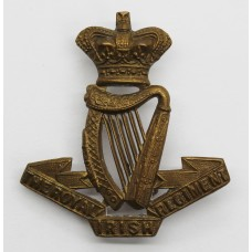 Victorian Royal Irish Regiment Cap Badge