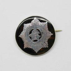 WW1 Army Service Corps (A.S.C.) 1917 Hallmarked Silver & Tortoiseshell Sweetheart Brooch