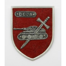 Rare WW2 Beja Battle Badge - 172nd Field Regiment Royal Artillery