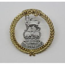 Mons Officer Cadet School Anodised (Staybrite) Cap Badge