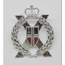 London Yeomanry & Territorials Anodised (Staybrite) Cap Badge