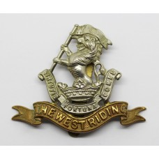 West Riding Regiment (Duke of Wellington's) Cap Badge