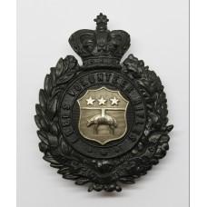 Victorian Leeds Volunteer Rifles Pouch Badge