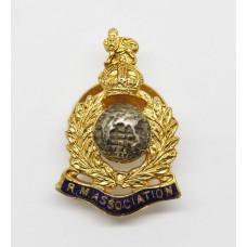 Royal Marine Association Veterans Lapel Badge - King's Crown