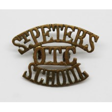 St. Peter's School O.T.C. (ST. PETER'S / OTC / SCHOOL) Shoulder T