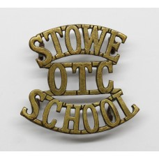 Stowe School O.T.C. (STOWE / OTC / SCHOOL) Shoulder Title