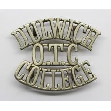 Dulwich College O.T.C. (DULWICH / OTC / COLLEGE) Shoulder Title