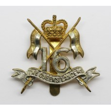 16th/5th The Queen's Lancers Cap Badge