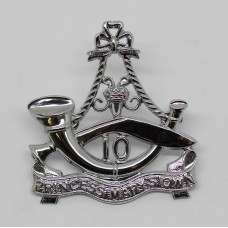 10th Princess Mary's Own Gurkha Rifles Chrome Cap Badge (Large)