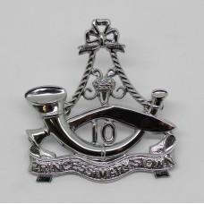 10th Princess Mary's Own Gurkha Rifles Chrome Cap Badge (Large)