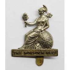 Norfolk Regiment Bi-metal Cap Badge