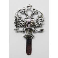 Queen's Dragoon Guards Chrome Cap Badge
