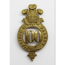 100th (Prince of Wales's) Regiment of Foot Pre 1881 Glengarry Bad
