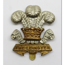 Leinster Regiment Cap Badge (Curly Scrolls Variant)