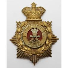Victorian Leinster Regiment Helmet Plate
