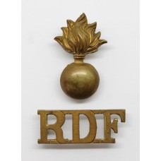 Royal Dublin Fusiliers (R.D.F.) Shoulder Title