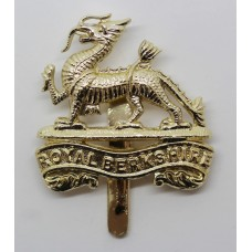 Royal Berkshire Regiment Anodised (Staybrite) Cap Badge