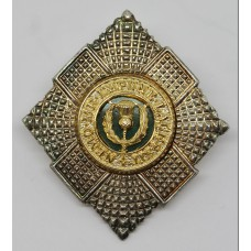 Royal Scots Warrant Officer's Cap Badge