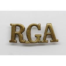 Royal Garrison Artillery (R.G.A.) Shoulder Title