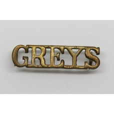 Royal Scots Greys (GREYS) Shoulder Title