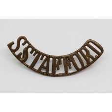 South Staffordshire Regiment (S.STAFFORD) Shoulder Title