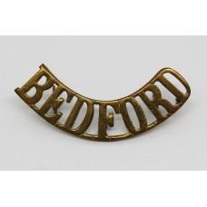 Bedfordshire Regiment (BEDFORD) Shoulder Title