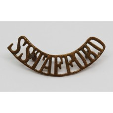 South Staffordshire Regt (S.STAFFORD) Shoulder Title