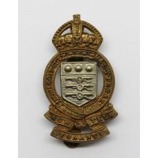 Royal Army Ordnance Corps (R.A.O.C.) Bi-metal Cap Badge - King's Crown