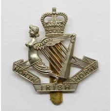 North Irish Horse Cap Badge - Queen's Crown