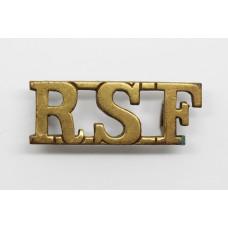 Royal Scots Fusiliers (R.S.F.) Shoulder Title