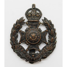 7th Bn. (Leeds Rifles) P.W.O. West Yorkshire Regiment Cap Badge