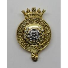 Duke of Lancaster's Own Yeomanry Anodised (Staybrite) Cap Badge