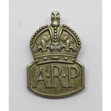 WW2 Air Raid Precautions (A.R.P.) Lapel Badge