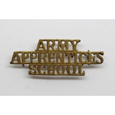 Army Apprentices School Shoulder Title
