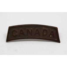 WW1 Canadian Infantry (CANADA) Shoulder Title - Dated 1915