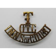 Inns of Court O.T.C. (T/O.T.C./INNS OF COURT) Shoulder Title