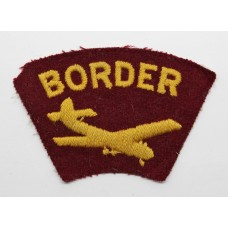 Border Regiment Glider Airborne Cloth Arm Badge