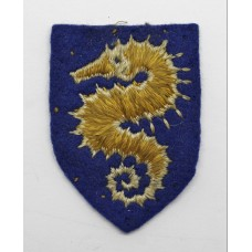 27th Armoured Brigade Cloth Formation Sign