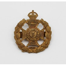 Rifle Brigade Officer's Dress Cap Badge - King's Crown