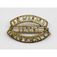 Oxford University O.T.C. Shoulder Title