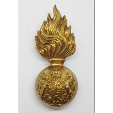 Victorian Royal Scots Fusiliers Fur Cap Grenade Badge