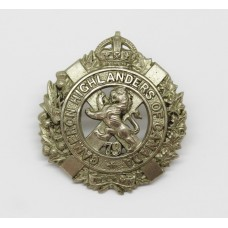 Canadian 79th Cameron Highlanders of Canada Collar Badge - KIng's