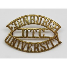 Edinburgh University O.T.C. (EDINBURGH/OTC/UNIVERSITY) Shoulder T