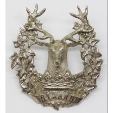 Gordon Highlanders Officer's Glengarry Badge