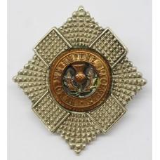 Royal Scots Officer's Cap Badge