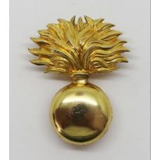 Royal Scots Dragoon Guards Bandsman's Bearskin Badge
