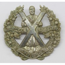Liverpool Scottish Cap Badge