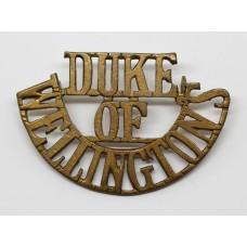 West Riding Regiment (DUKE/OF/WELLINGTON'S) Shoulder Title