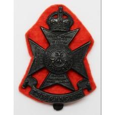 12th London Regiment (The Rangers) Cap Badge - King's Crown