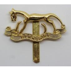 Berkshire Yeomanry Anodised (Staybrite) Cap Badge